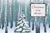 Christmas is in the Air,   Box of 20 Christmas Cards