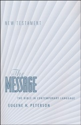 The Message New Testament, Ministry Edition