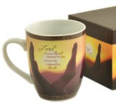 I Commit My Hands, Mug with Keepsake Box