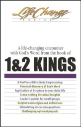 1 & 2 Kings, LifeChange Bible Study - Slightly Imperfect