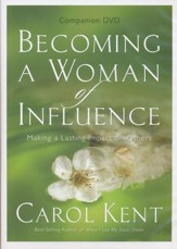 Becoming a Woman of Influence Companion DVD: Making a Lasting Impact on Others