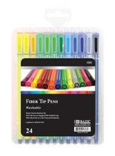 24 Color Washable Fiber Tip Pens