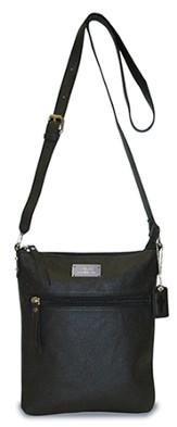 Faith, Crossbody Purse, Black