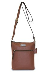 Hope, Crossbody Purse, Brown