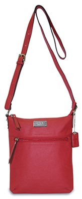 Believe, Crossbody Purse, Red