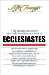 Ecclesiastes, LifeChange Bible Study