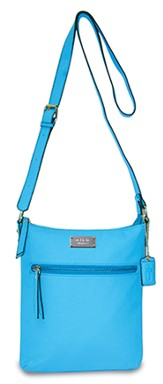 Believe, Crossbody Purse, Blue