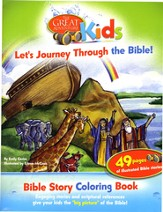 Great Adventure Kids Let's Journey Through the Bible Bible Story Coloring Book