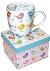 Aves En Filas, Taza  (Birds In Rows Mug)