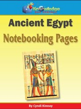 Ancient Egypt Notebooking Pages - PDF Download [Download]