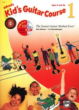 Alfred's Kid's Guitar Course 1, Book & CD
