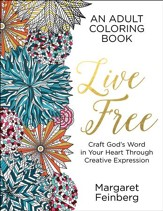 Live Free, Adult Coloring Book