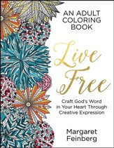Live Free, Adult Coloring Book (slightly imperfect)
