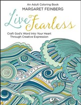 Live Fearless: An Adult Coloring Book - Slightly Imperfect