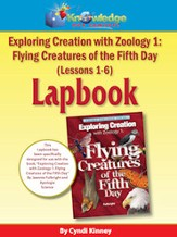 Exploring Creation w/ Zoology I: Flying Creatures of the 5th Day Lessons1-6 Lapbook - PDF Download [Download]
