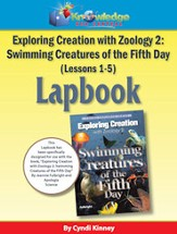 Exploring Creation w/ Zoology 2: Swimming Creatures of the 5th Day Lessons 1-5 Lapbook - PDF Download [Download]