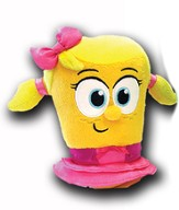 VeggieTales Bean Plush, Laura