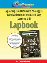 Exploring Creation w/ Zoology 3: Land Animals of the 6th Day Lessons 1-6 Lapbook - PDF Download [Download]