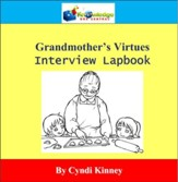 Grandmother's Virtues Interview Lapbook - PDF Download [Download]