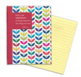 Sticky Note Tablet (200 Sheets) - Colorful Leaves - With Scripture