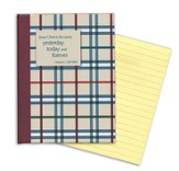 Sticky Note Tablet (200 Sheets) - English Plaid - withe
