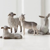 Willow Tree ® The Holy Family Nativity Sheltering Animals