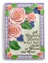 A Mother's Love, Roses Plaque