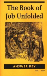 The Book of Job Unfolded, Answer Key