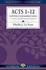 Acts 1-12: God's Power in Jerusalem & Judea - PDF Download [Download]