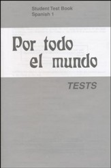 Por todo el mundo Spanish Year 1 Tests