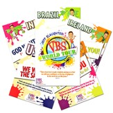Jeff Slaughter VBS World Tour:  VBS Theme Poster (Set of 6)