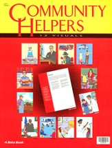Community Helpers Visuals (Grade 1; 12 cards)