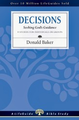 Decisions: Seeking God's Guidance - PDF Download [Download]