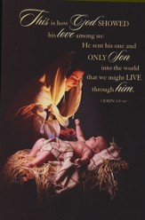 A Savior Is Born Christmas Cards, Box of 16