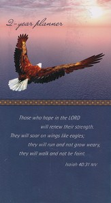 2015-16 Eagle's Wings Pocket Calendar (Isaiah 40:31, NIV)