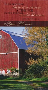 2015-16 Red Barn Pocket Planner (Ecclesiastes 3:1,  NKJV)