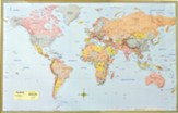 World Map Poster (Paper) 50 x 32
