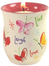 Live, Laugh, Love Tea light