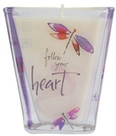 Follow Your Heart Votive Candle