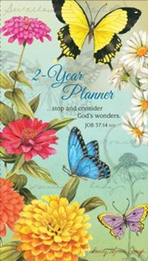 2015-16 Butterflies Pocket Planner (Job 37:14, NIV)