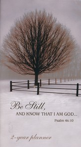 2015-16 Be Still Pocket Planner (Psalm 46:10, KJV)