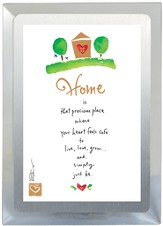 Home is That Precious Place Musical Frame