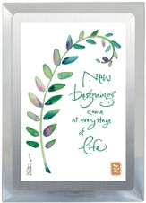 New Beginnings Come Musical Frame