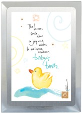 Baby's Birth Musical Frame