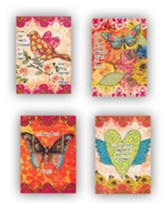 Butterfly, Encouragement Cards, Box of 12