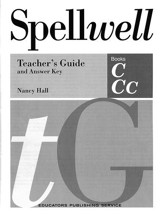 Spellwell C & CC Teacher's Guide and Answer Key