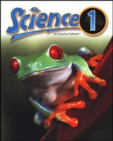 BJU Science Grade 1 Student Text, Updated Second Edition  Softcover