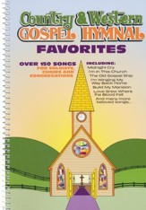Country & Western Gospel Hymnal Favorites