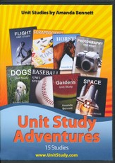 Amanda Bennett's Unit Study Adventures Set (15 4-Week Studies on CD-Rom)