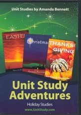 Holiday Series Set of Amanda Bennett's Unit  Study Adventures (4 Four-Week Studies on CD-Rom)